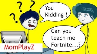 When a Gamer's Mom wants to play games PART 1