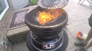 CookAir wood fire grill