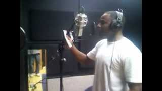 Livewire in the booth recording Jumping!!!