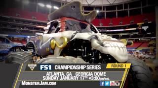 Atlanta Monster Jam on FS1 - January 17, 2016!