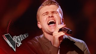 Ryan James 'I Heard it Through The Grapevine / Superstition': Blind Auditions 4 | The Voice UK 2017