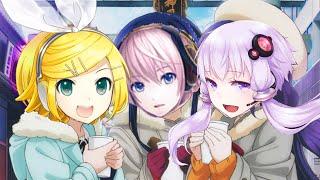 【Vocaloid 4】Aki no Anata no Sora Tooku (Love Live ) 【Yukari, Luka & Rin】