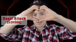 Demi Lovato - Heart Attack (Johnny Orlando Cover) (Lyrics) (2013)
