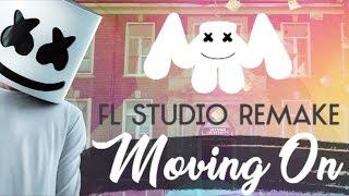 Marshmello - Moving On *DROP* KARL Remake 90% (Fl Studio) + FREE FLP