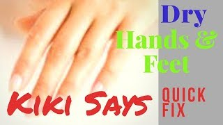 How to #Heal Super #Dry #Hands and #Feet - #Smooth and #Pain-Free