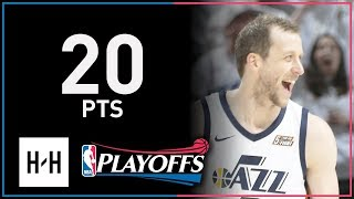 Joe Ingles Full Game 4 Highlights Thunder vs Jazz 2018 NBA Playoffs - 20 Pts!