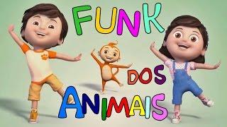 """COREOGRAFIA ANIMADA """"Funk dos Animais"""" MÚSICA GOSPEL INFANTIL - 2017"""