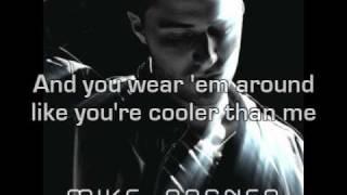 Mike Posner feat. Big Sean - Cooler Than Me Lyrics