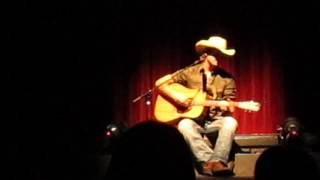 Underneath The Apple Tree- Dean Brody live