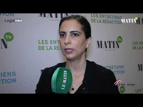 Video : Logismed 2019 : Hind Lfal, DGA en charge du Pôle Colis & Logistique à Barid Al Maghrib