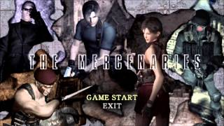 Resident evil 4 Mercenaries OST ~ Menu