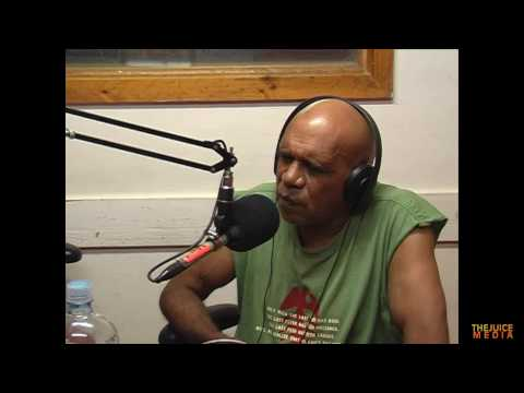 Archie Roach - Australian music legend interview with Robbie Thorpe, live on radio (1of 2)