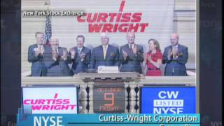 9 October 2009 NYSE Closing Bell Curtiss Wright Corporation