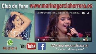 Marina Mi Deseo en Canal Sur Nuevo año 2018 Comprar entradas Marina