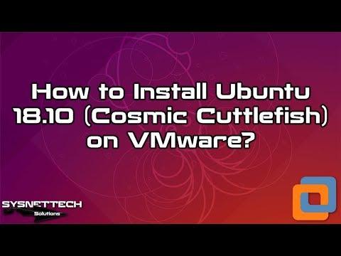 Ubuntu Installation with VMware