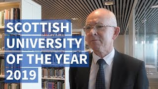 Scottish University of the Year 2019 | Professor George Boyne, University of Aberdeen Principal