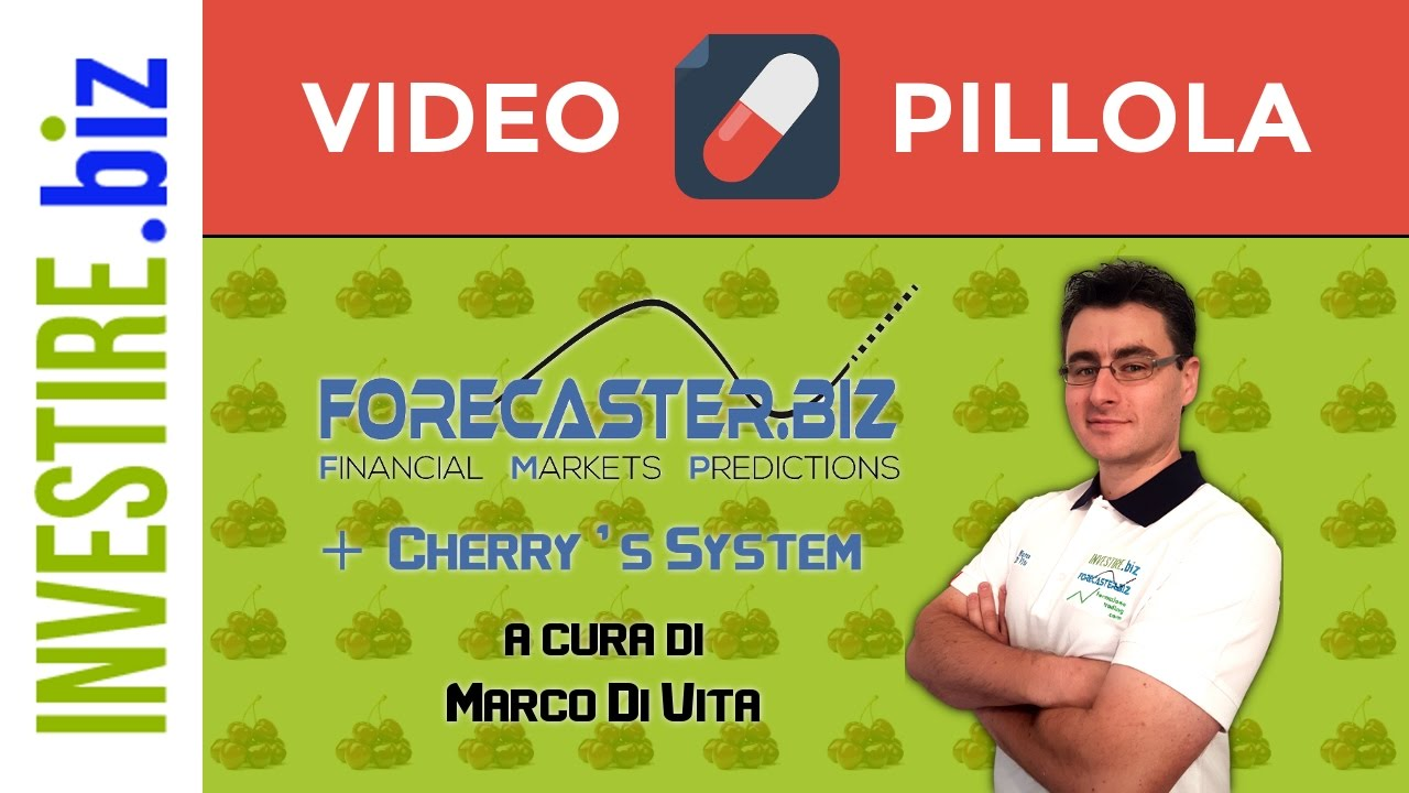 """Video Pillola """"Forecaster + Cherry's System LIVE"""" 03/01/2017"""