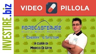 "Video Pillola ""Forecaster + Cherry's System LIVE"" 03/01/2017"