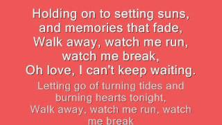Can't Keep Waiting - Autumn Hills ~ Lyrics