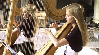 OUR FATHER (The Lord's Prayer) in Memory of Justin - Camille and Kennerly, Harp Twins