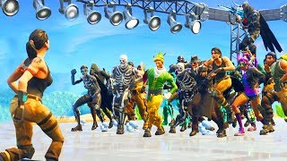 when 100 people default dance