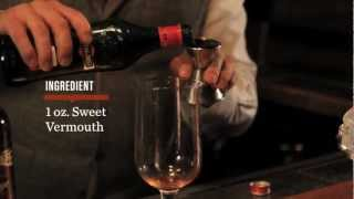 How to Make a Classic Manhattan - Speakeasy Cocktails