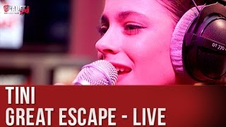 TINI - GREAT ESCAPE - LIVE - C'Cauet sur NRJ