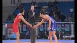 Wrestling FW 48KG 1/2 Final CHN - GER