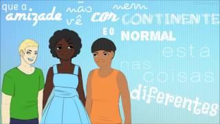 Normal é ser diferente - Letra (Colégio Magister Nono A)