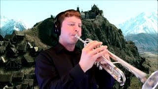 """Rohan (from """"Lord of the Rings"""") Trumpet Cover"""