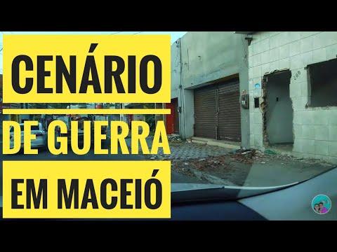 Bairros de Maceió estão afundando: Veja a situação de bairros que foram interditados