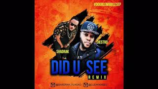 Diestro ft Shadrak - J Hus - Did U See Remix Dancehall Style
