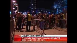 "72 mil bilhetes vendidos ""Violetta Live"" em Portugal (24-01-2015)"