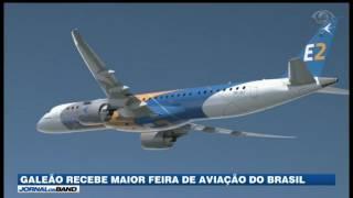 RJ: Galeão recebe maior feira de aviação do Brasil