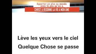 CHANTRE MITAL LEVE LES YEUX VERS LE CIEL