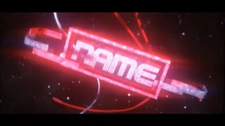 FREE 3D Text After Effects & Cinema 4D Intro Template #596 + Tutorial