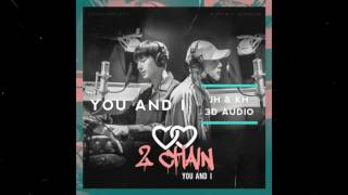 You and I 3D- Jooheon & Kihyun [2CHAIN] (please use earphones)