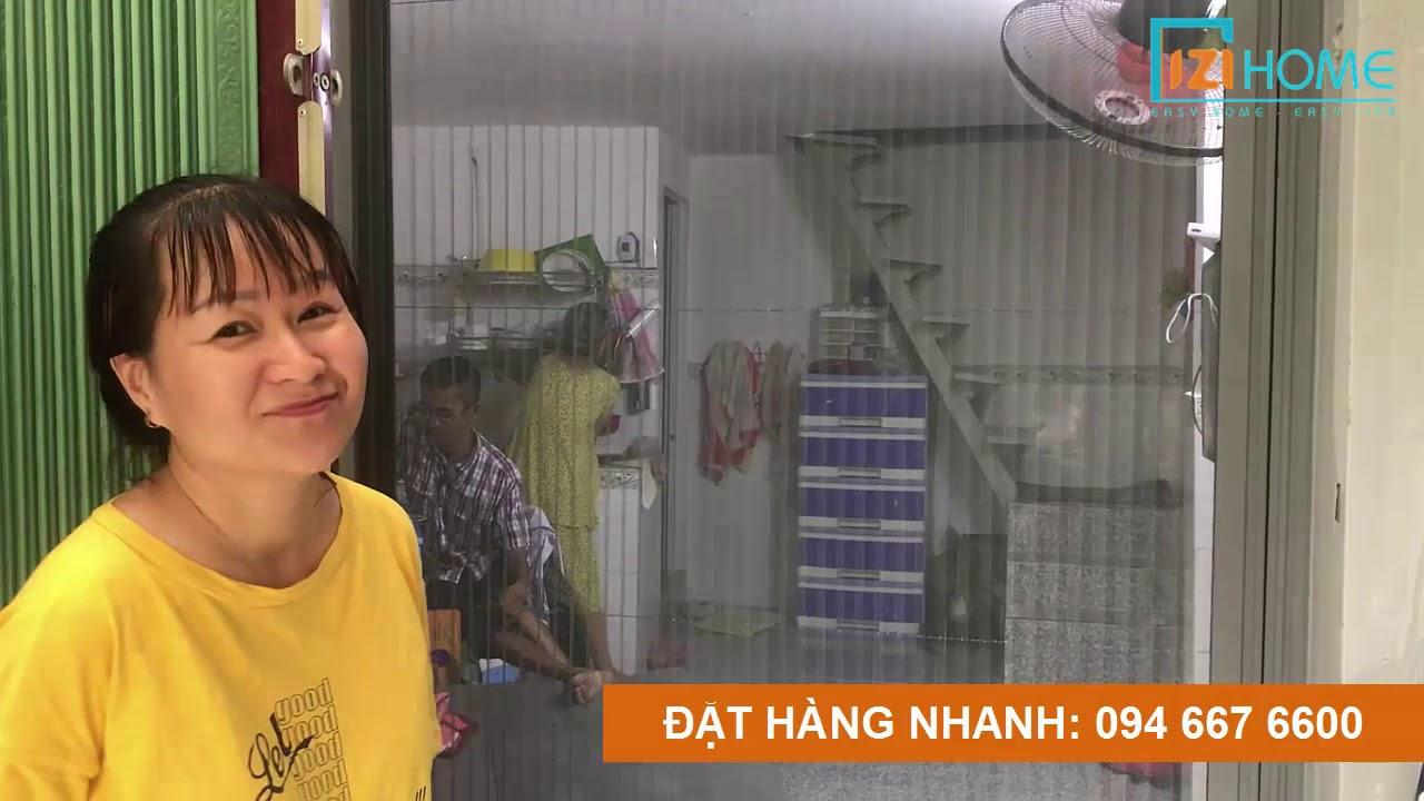 Chị Hồng nói gì sau khi lắp cửa lưới chống muỗi IZI Home ?