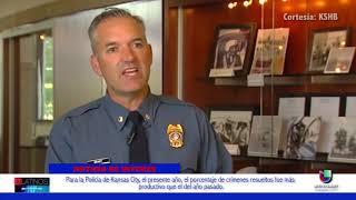 Para la policía de Kansas City, la resolución de homicidios de este año resultó muy productivo