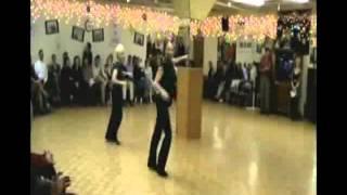 2009 Dancewell Showcase Pilar & Rachel perform salsa
