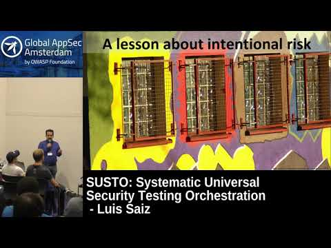 SUSTO: Systematic Universal Security Testing Orchestration - Luis Saiz
