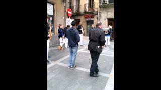 Fanfarrias con aires punk por Bilbao