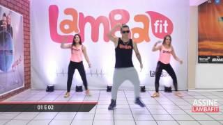 Gabriel Diniz - 01 e 02 - Coreografia Lambafit - Aula