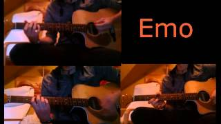 blink-182 - emo acoustic cover (full instrumental)