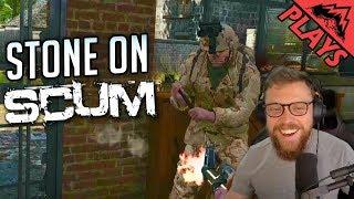 LEARNING THE BASICS - SCUM Gameplay #1 (StoneMountain64 First Look Walkthrough)