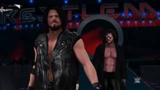 Bullet Club Entrance - WWE 2k17 (AJ Styles, Finn Balor & Kenny Omega)