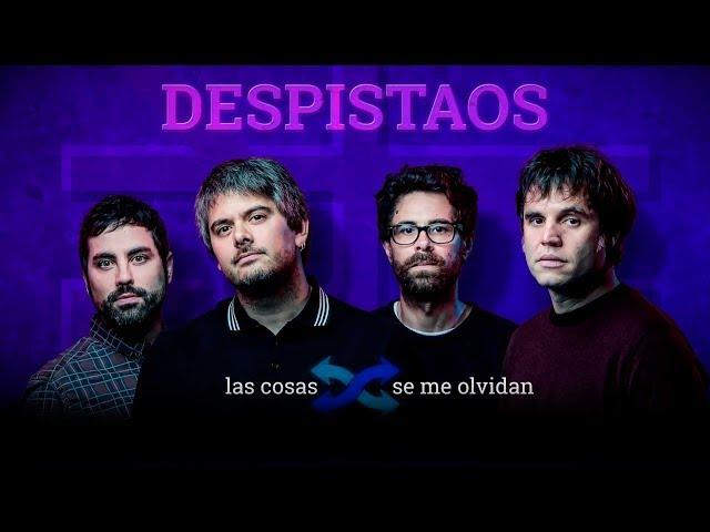 Vídeo-lyrics de Las cosas se me olvidan de Despistaos