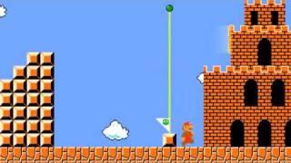 Super Mario Bros с Portal Gun
