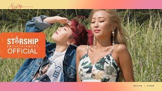 [Making Film] 효린(HYOLYN) X 키썸(KISUM) [FRUITY] PHOTOSHOOT