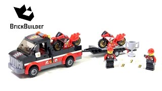 Lego City 60084 Racing Bike Transporter - Lego Speed Build